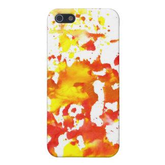 malen Sie Spritzen flippige 4 umkleidend Etui Fürs iPhone 5