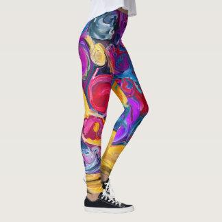 malen Sie Spritzen Leggings