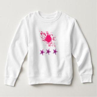Malen Sie Spritzen und spielt Baby-Sweatshirt die Sweatshirt