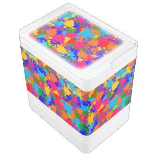 Malen Sie Spritzer Igloo Kühlbox