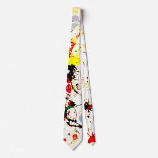 Malen Sie Spritzer Individuelle Krawatte