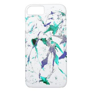 Malen Sie Spritzer iPhone 7 Fall iPhone 8/7 Hülle