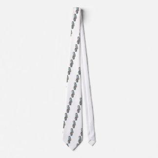Malen Sie Spritzer-Porträt Krawatte