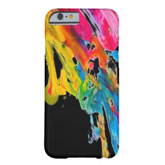 malen Sie Spritzerfarbfarben klassifizieren Barely There iPhone 6 Hülle