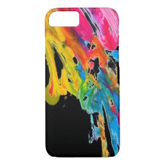 malen Sie Spritzerfarbfarben klassifizieren iPhone 8/7 Hülle