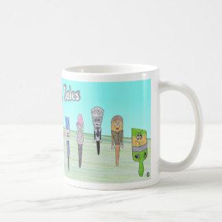 Malen Sie Stadtgeschichten-Tasse Tasse