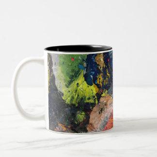 Malen Sie Strudel-Tasse Zweifarbige Tasse
