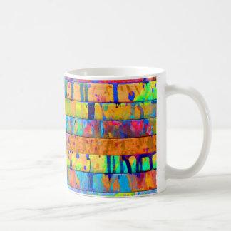 Malen Sie Tropfen Tasse