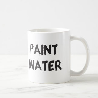 Malen Sie Wasser Tasse