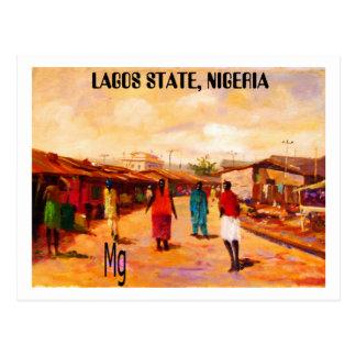 MALENDE 9 Kopie, LAGOS-STAAT, NIGERIA Postkarte
