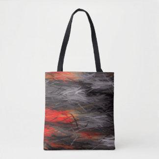 Malende abstrakte Kunst #11 Tasche