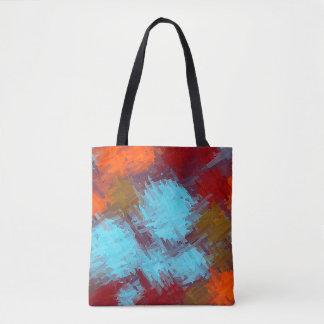 Malende abstrakte Kunst #24 Tasche