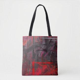 Malende abstrakte Kunst #25 Tasche
