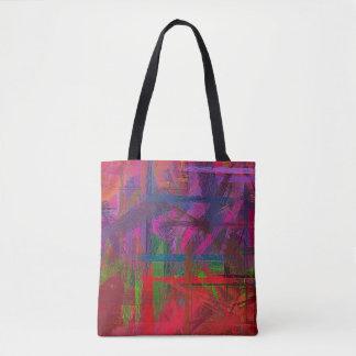 Malende abstrakte Kunst #26 Tasche
