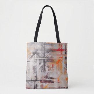 Malende abstrakte Kunst #27 Tasche