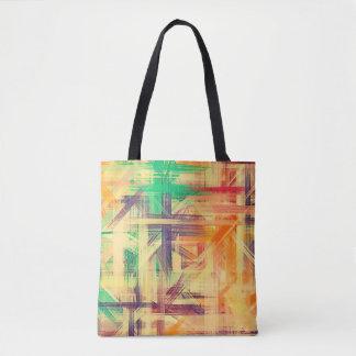 Malende abstrakte Kunst #28 Tasche