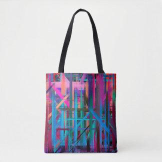 Malende abstrakte Kunst #2 Tasche