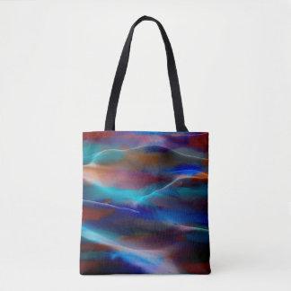Malende abstrakte Kunst #34 Tasche