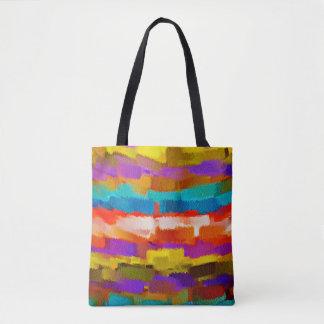 Malende abstrakte Kunst #6 Tasche
