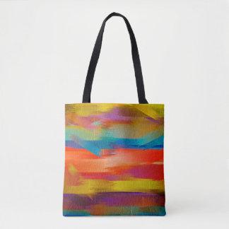 Malende abstrakte Kunst #7 Tasche