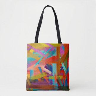 Malende abstrakte Kunst #8 Tasche