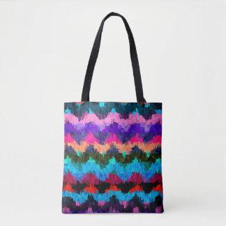 Malende abstrakte Kunst Tasche