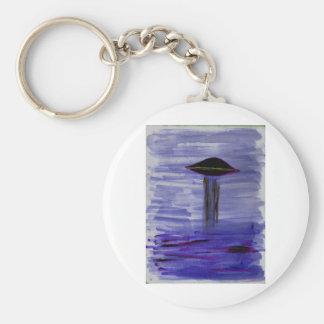 Malende violette Farbe VISION-D8 Schlüsselanhänger