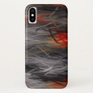 Malender abstrakter Hintergrund iPhone X Hülle