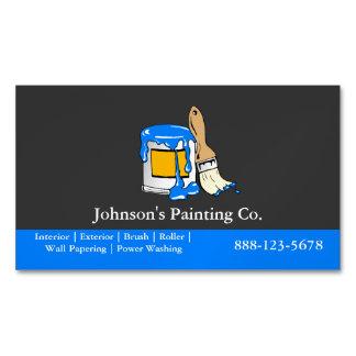 Maler-Malerei-Farbe kann Pinsel Visitenkartenmagnet