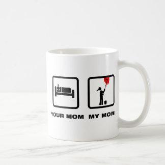 Maler Kaffeetasse
