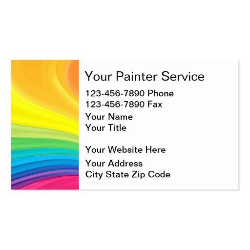Maler-Visitenkarten