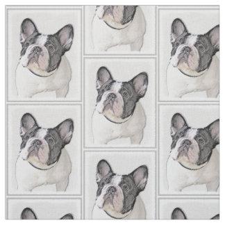 Malerei der französischen Bulldoggen-(Brindle Stoff