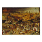 Malerei der Pest-1562 Poster