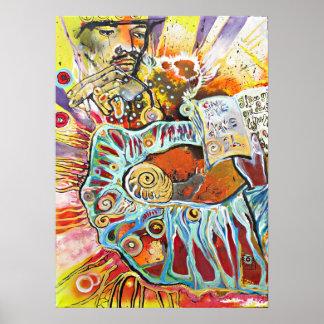 Malerei des Künstlers RobSKY Poster