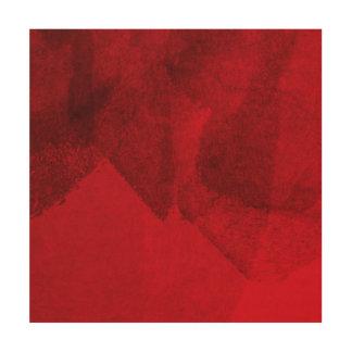 Malerei-Entwurfskunst der roten schwarzen Liebe Holzwanddeko