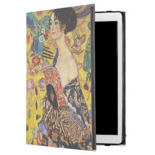 Malerei Gustav-Klimt Damen-With Fan Art Nouveau
