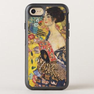 Malerei Gustav-Klimt Damen-With Fan Art Nouveau OtterBox Symmetry iPhone 8/7 Hülle