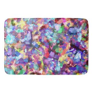 Malerei mit Farbe Badematte