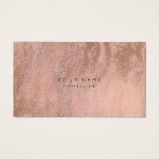 Malerei-Rosen-Goldrosa-Marmor-Verabredungs-Karte Visitenkarte