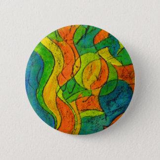 Malerei Runder Button 5,7 Cm
