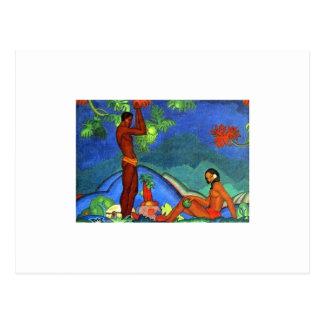 Malerei von Arman Manookian circa zwanziger Postkarte