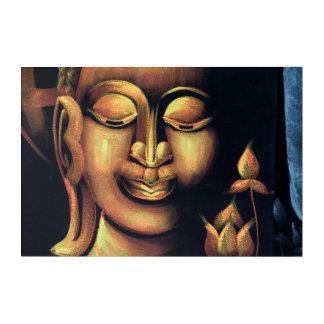 Malerei von Buddha Acryldruck