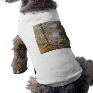 Malerei-Waldstrom Haustier-KleidungAnn Hayes T-Shirt