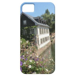Malerisches Haus mit Blumen und Kanälen, Schutzhülle Fürs iPhone 5