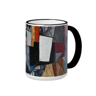 Malevich - Büro und Raum Ringer Tasse