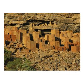 MALI, Dogon Länder. Traditioneller Tellem Malian Postkarte