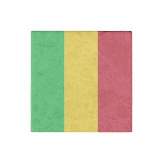 Mali-Flagge Steinmagnet