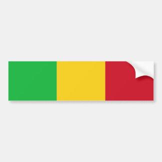 Mali/malische Flagge Autoaufkleber
