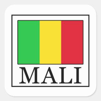 Mali Quadratischer Aufkleber