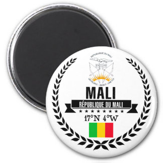Mali Runder Magnet 5,7 Cm